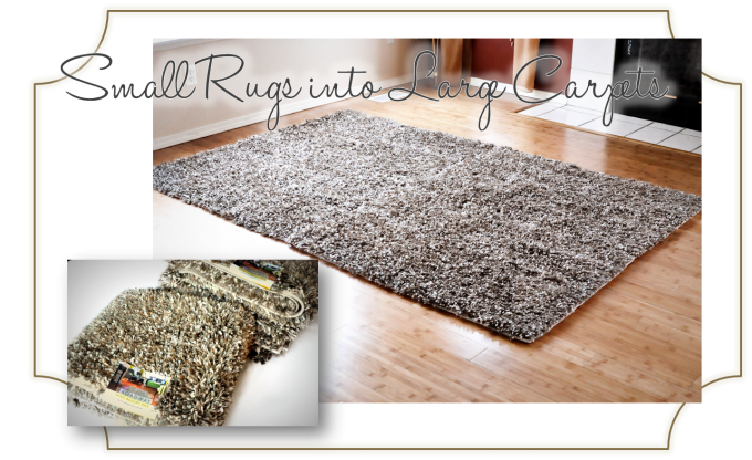 Rectangle Shag Rugs In Options Color Which Are Grey Or Brown For Floor Decor Ideas