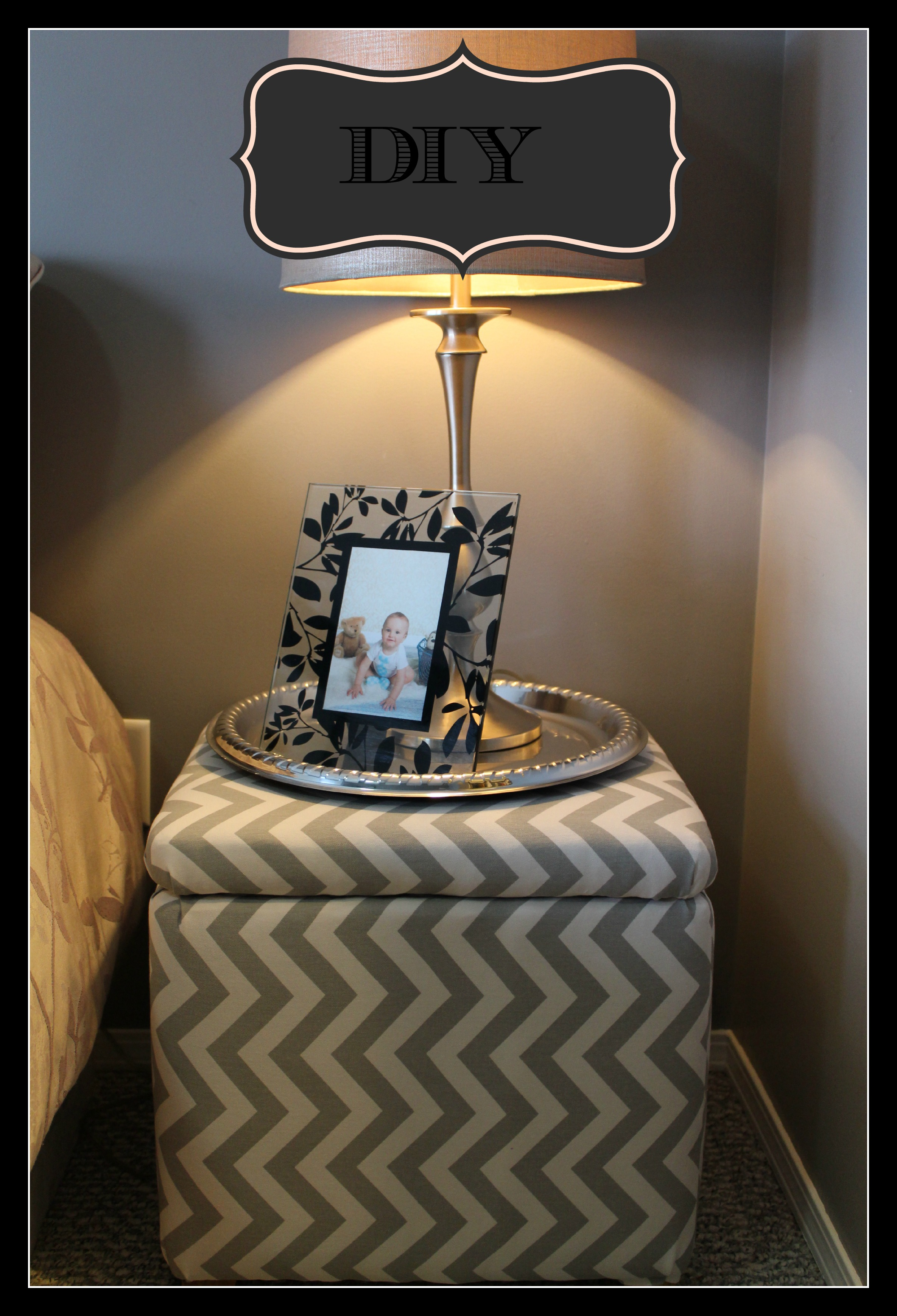 round silver large ottoman tray on chevron ottoman for home furniture ideas