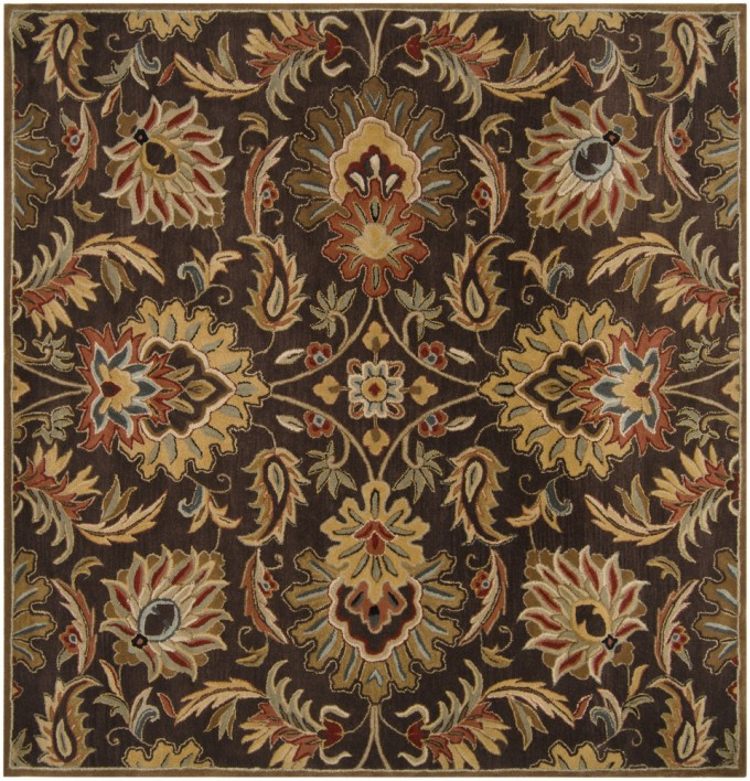 RugStudio Presents Caesar CAE 1028 Hand Tufted Surya Rugs With Floral Pattern For Floor Decor Ideas