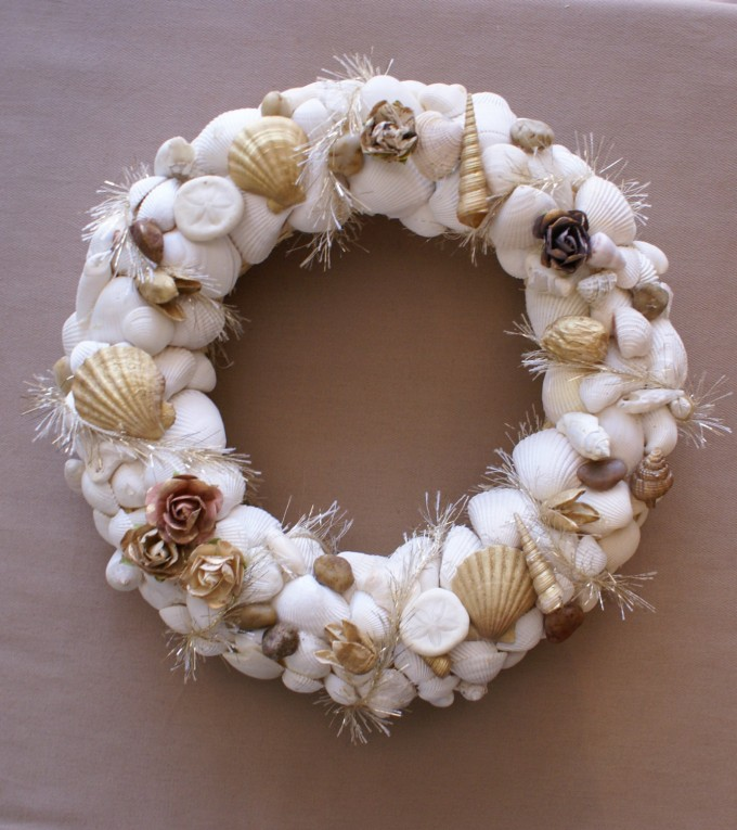 Seashell Wreath 11 Inch For Wall Accessories Ideas