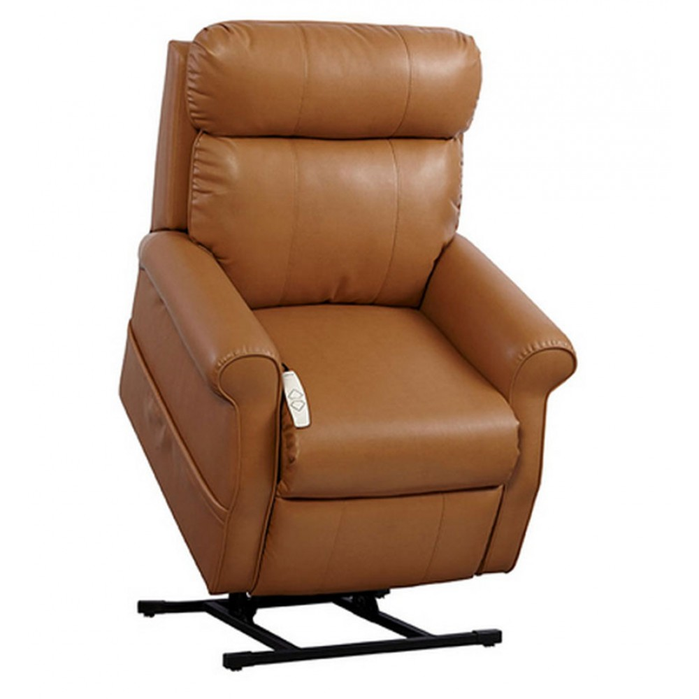 Serenity Comfort power lift recliners Si301 in leather brown for home furniture ideas