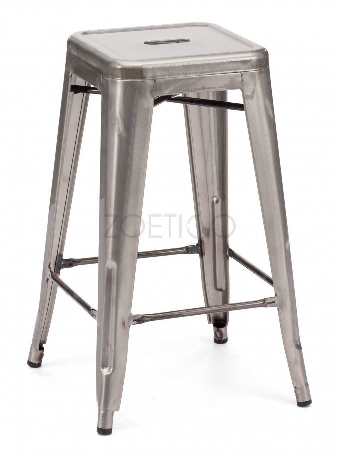 Silver Metal 24 Inch Counter Stools For Home Furniture Ideas
