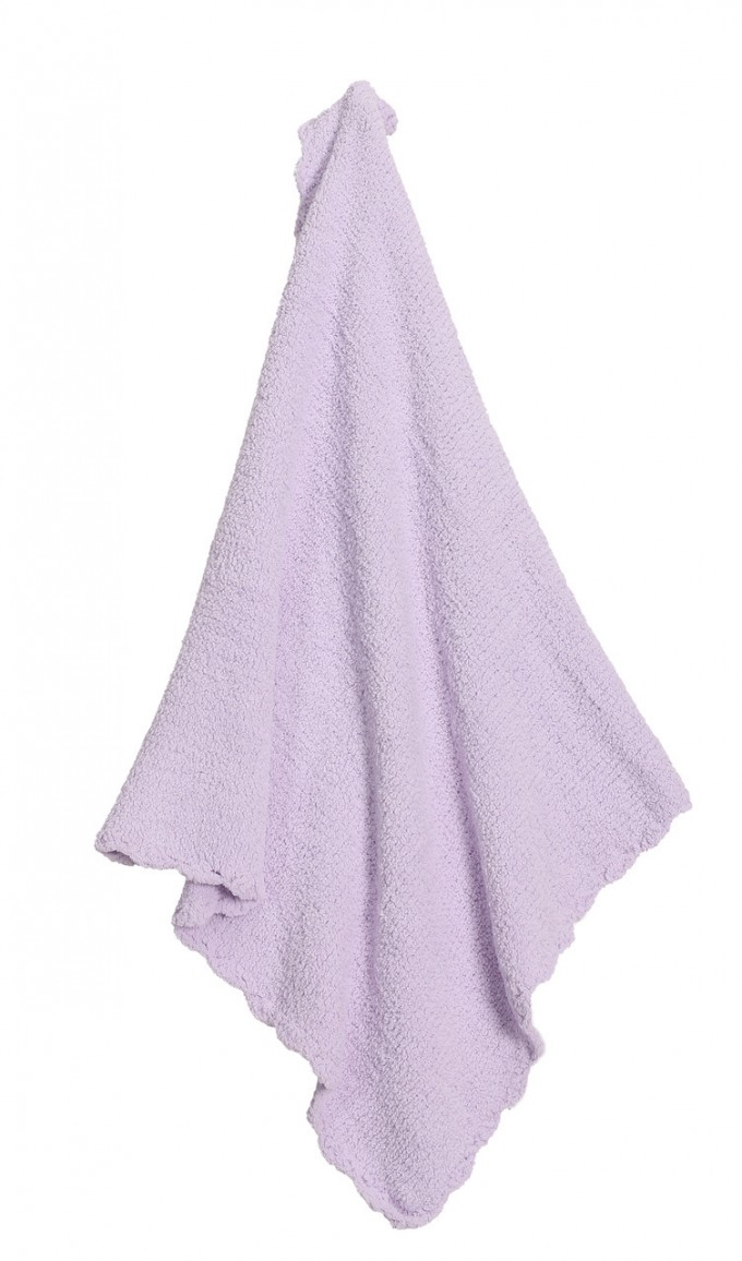 Solid Lavender Chenille Blanket Ideas