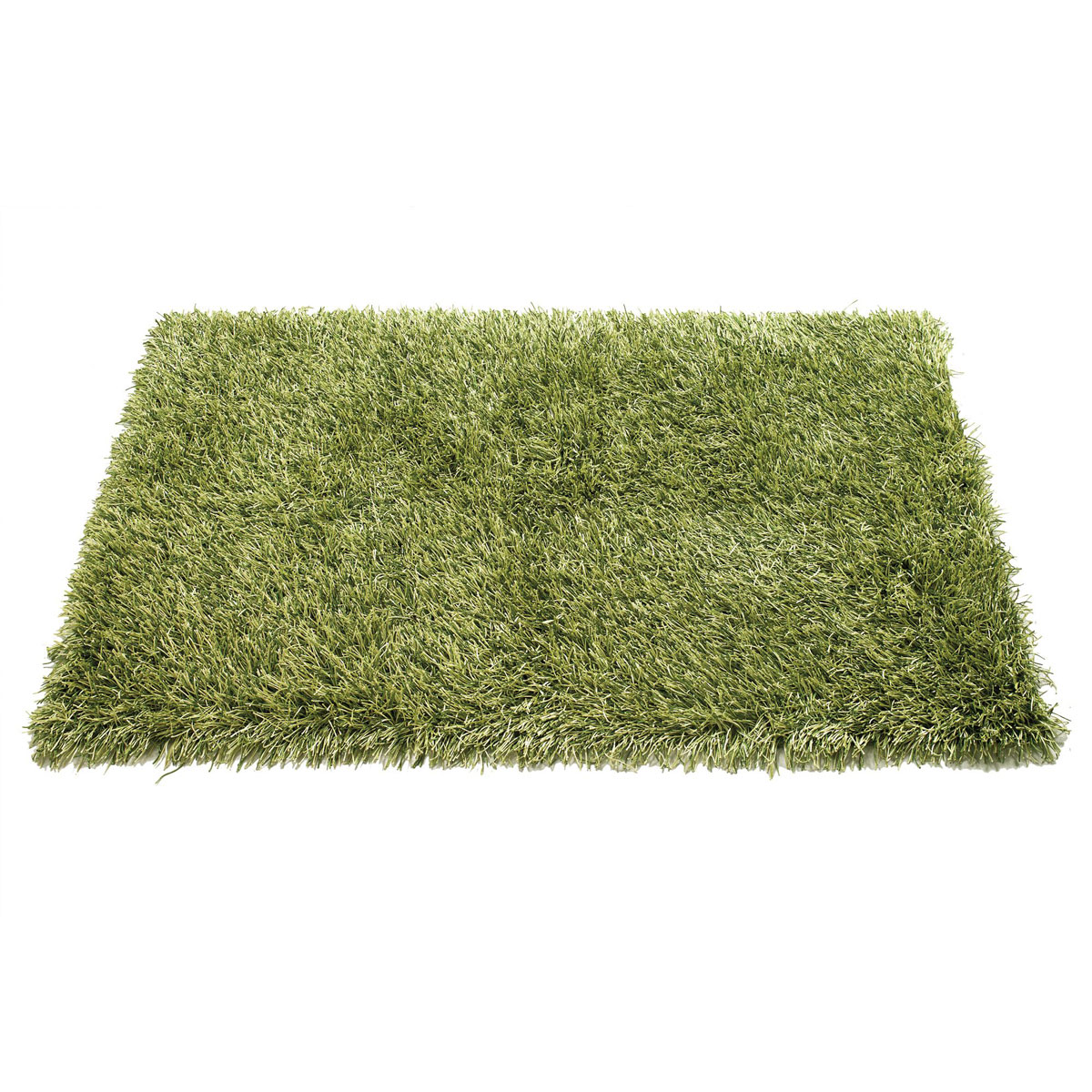 square shag rugs in green for wall decor ideas