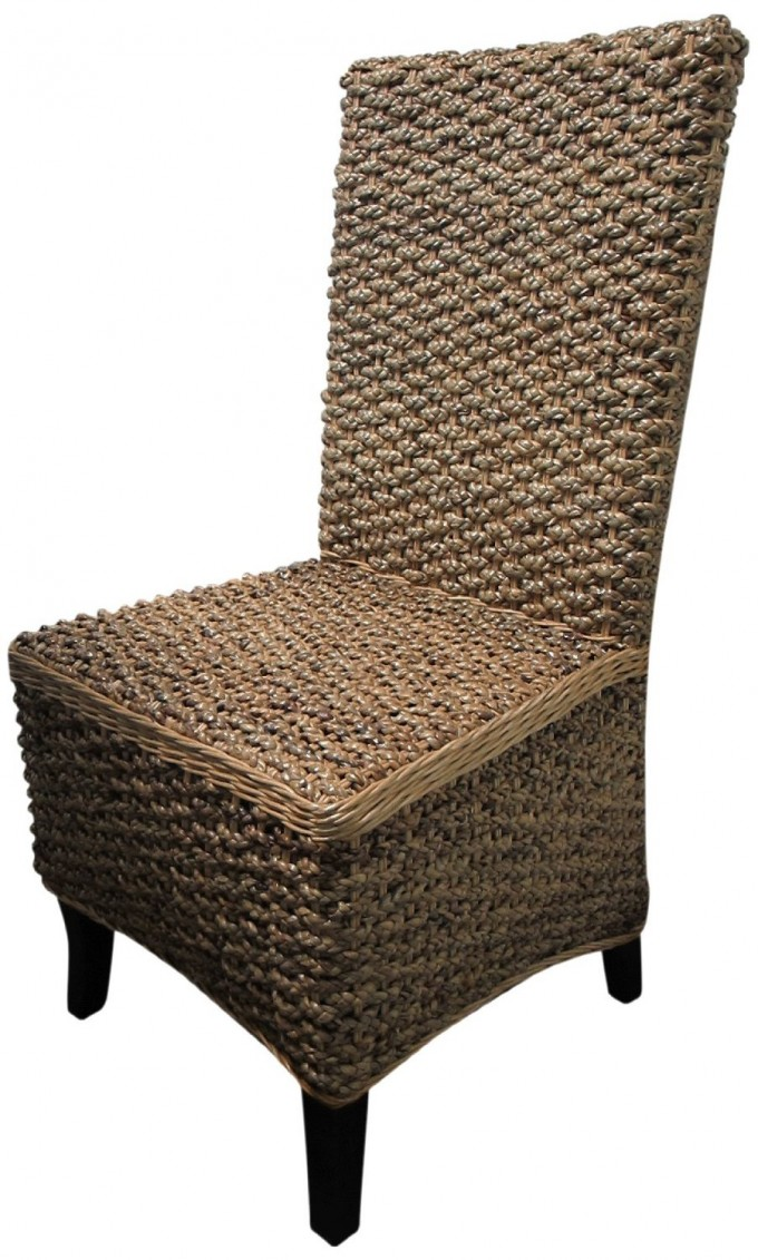 Stewart Teak And Seagrass Dining Chairs For Dining Room Furniture Ideas
