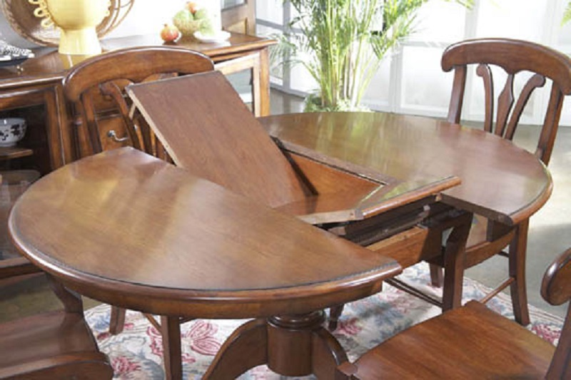 stunning wooden expandable dining table set on for dining room furniture ideas