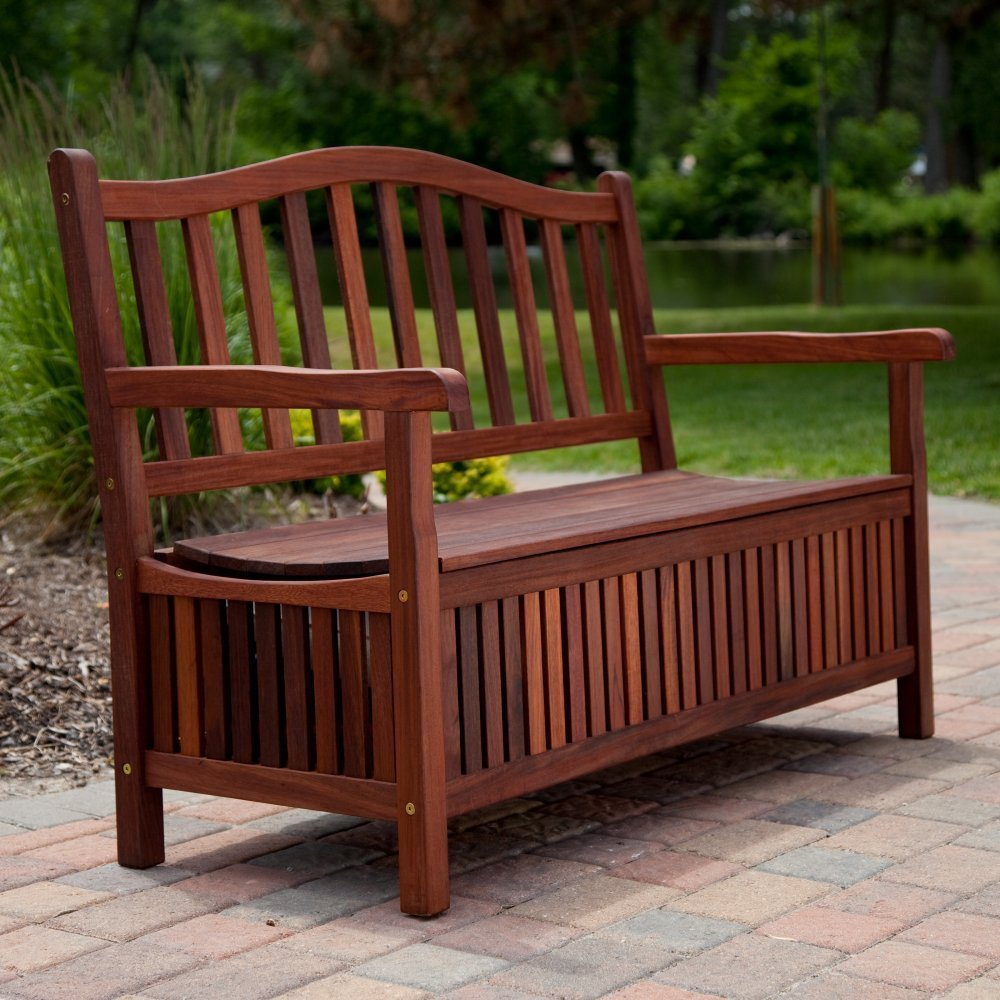 Suncast Deck Box Ideas with seat and back and arm for patio furniture ideas