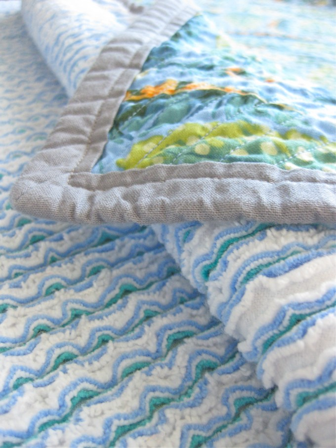 Super Cute Faux Chenille Blanket For Bedding Ideas