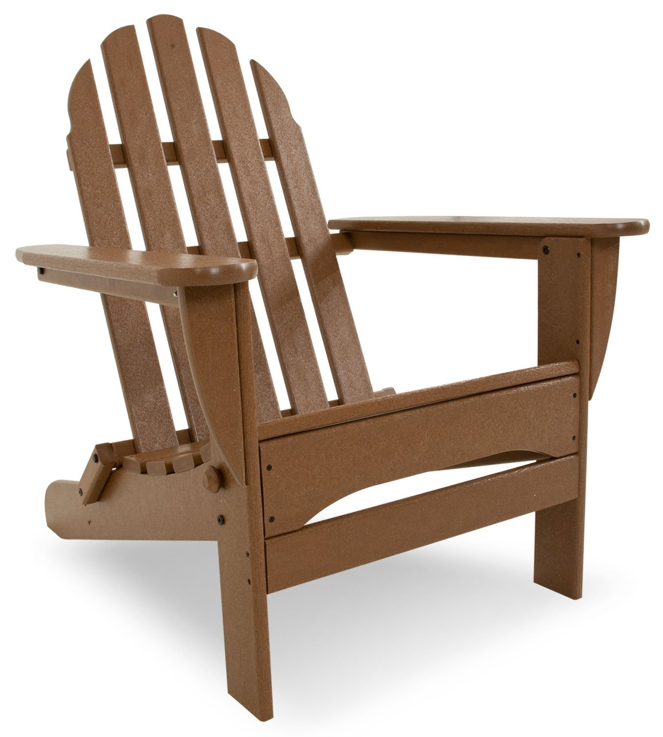 teak adirondack chairs in dark brown with arm for outdoor furniture ideas