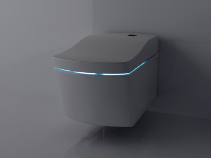 Toto Toilets In Modern Design With Light For Smart Toilet Furniture Ideas