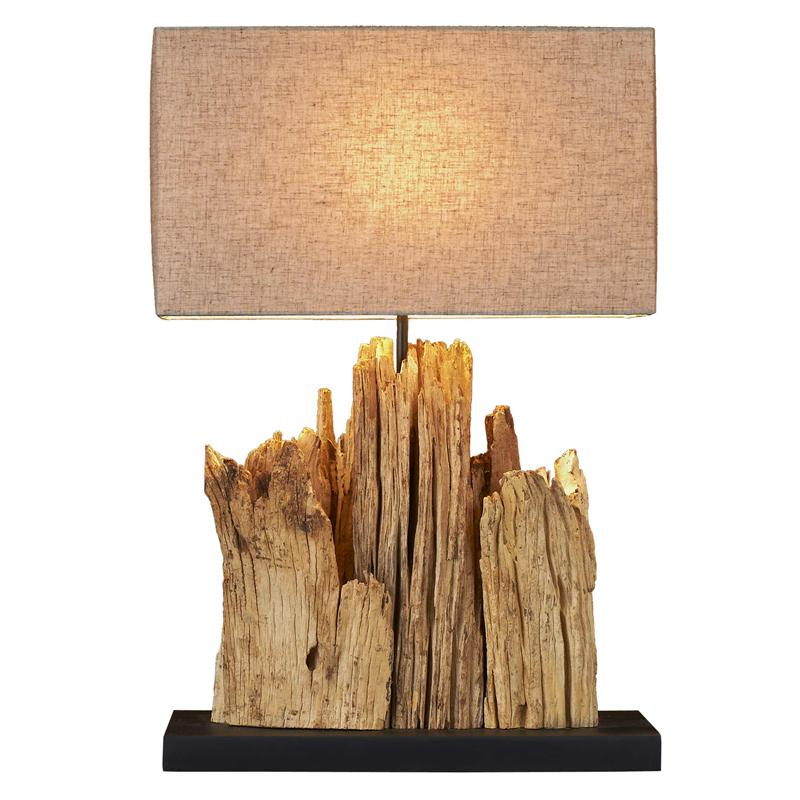 unique driftwood floor lamp in tan for home furniture ideas