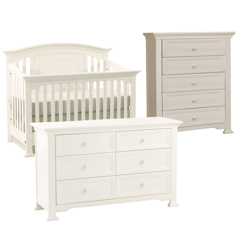 white crib by munire crib plus white dressers for nursery furniture ideas