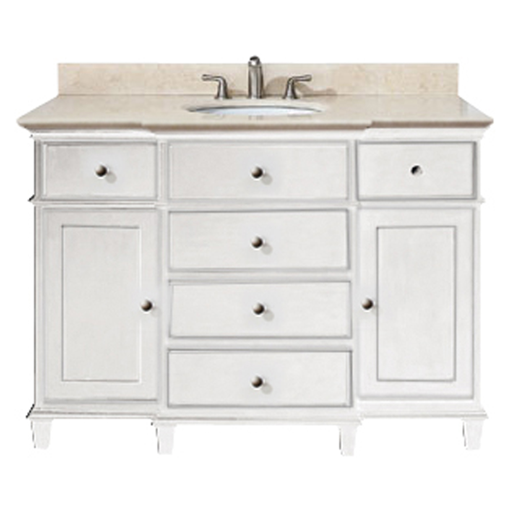 white wooden bathroom vanities with tops and single faucet and single sink for bathroom furniture ideas