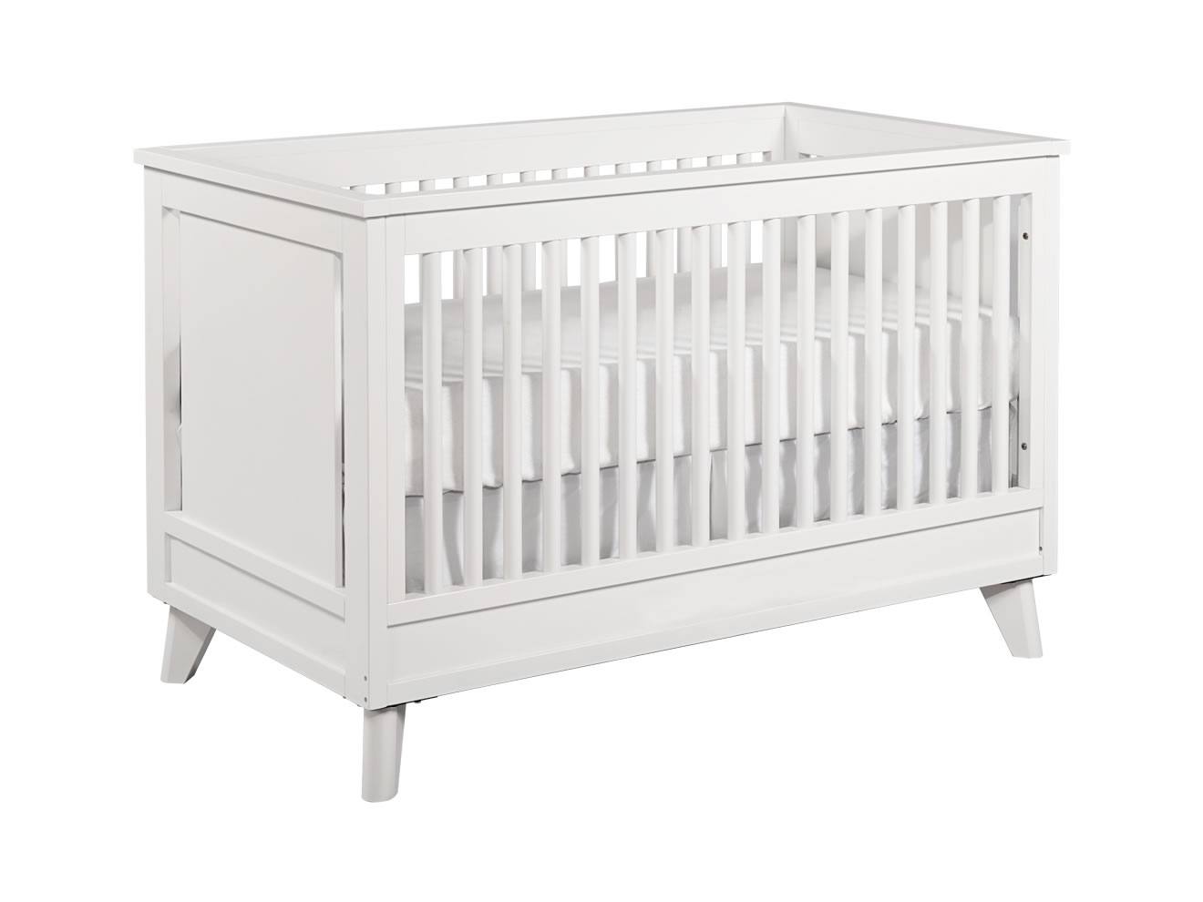 wooden crib in white theme by munire crib for nursery furniture idaes