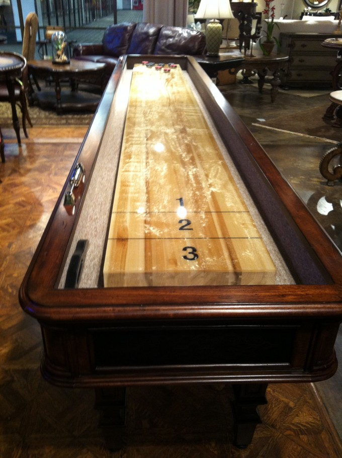 Wooden Shuffleboard Table For Sale For Traditional Game Ideas