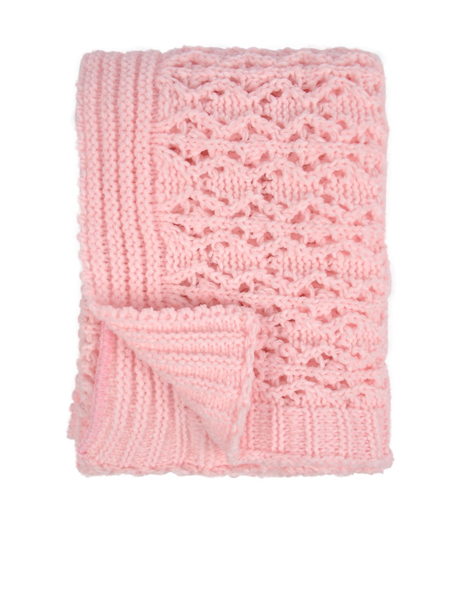 wool chenille blanket in pink for charming blanket ideas
