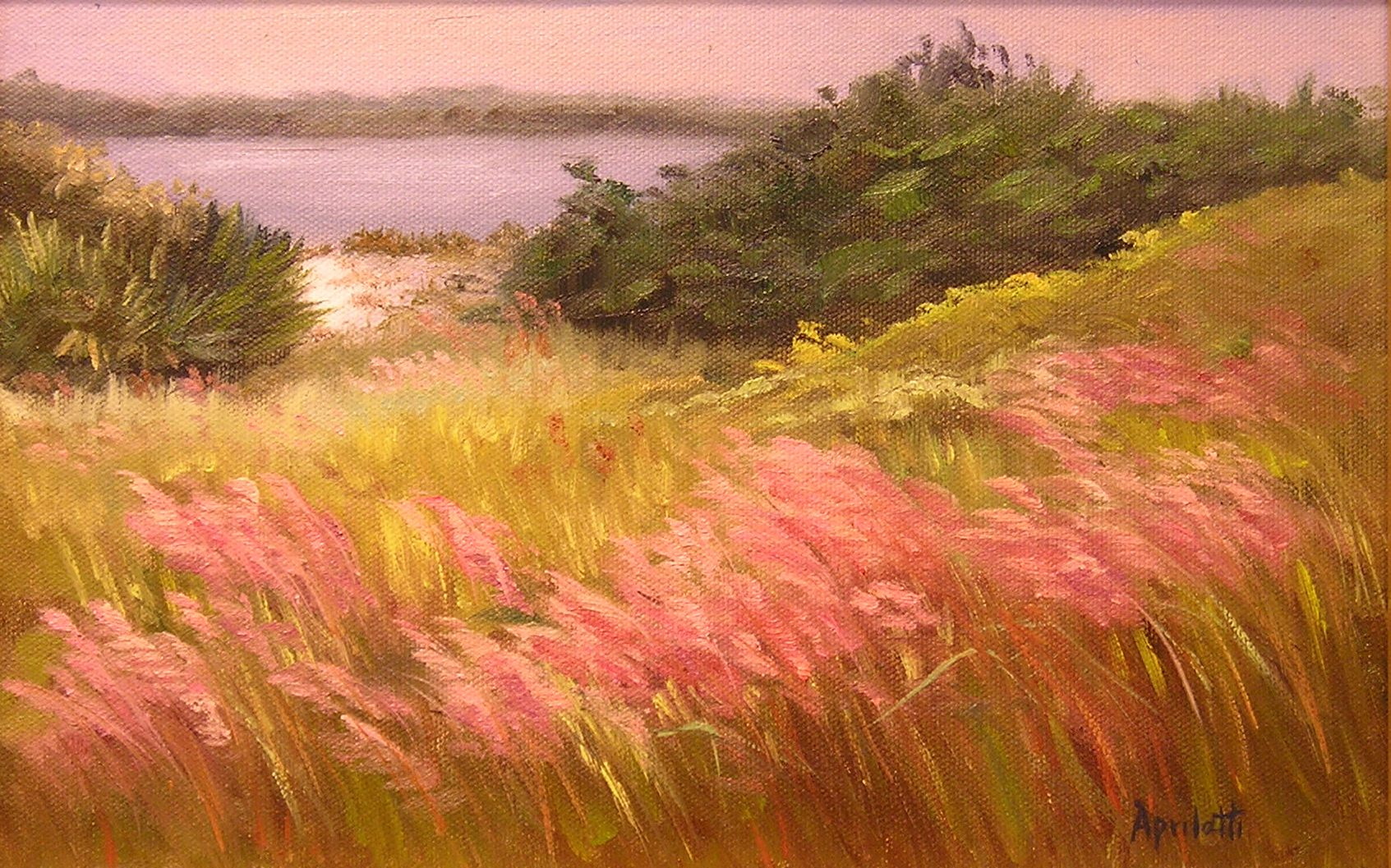 Artist Directory Art with Beauty pink muhly grass