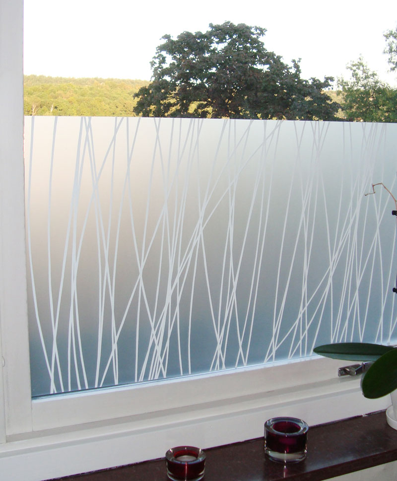 awesome artscape window film on white frame window for home decor ideas