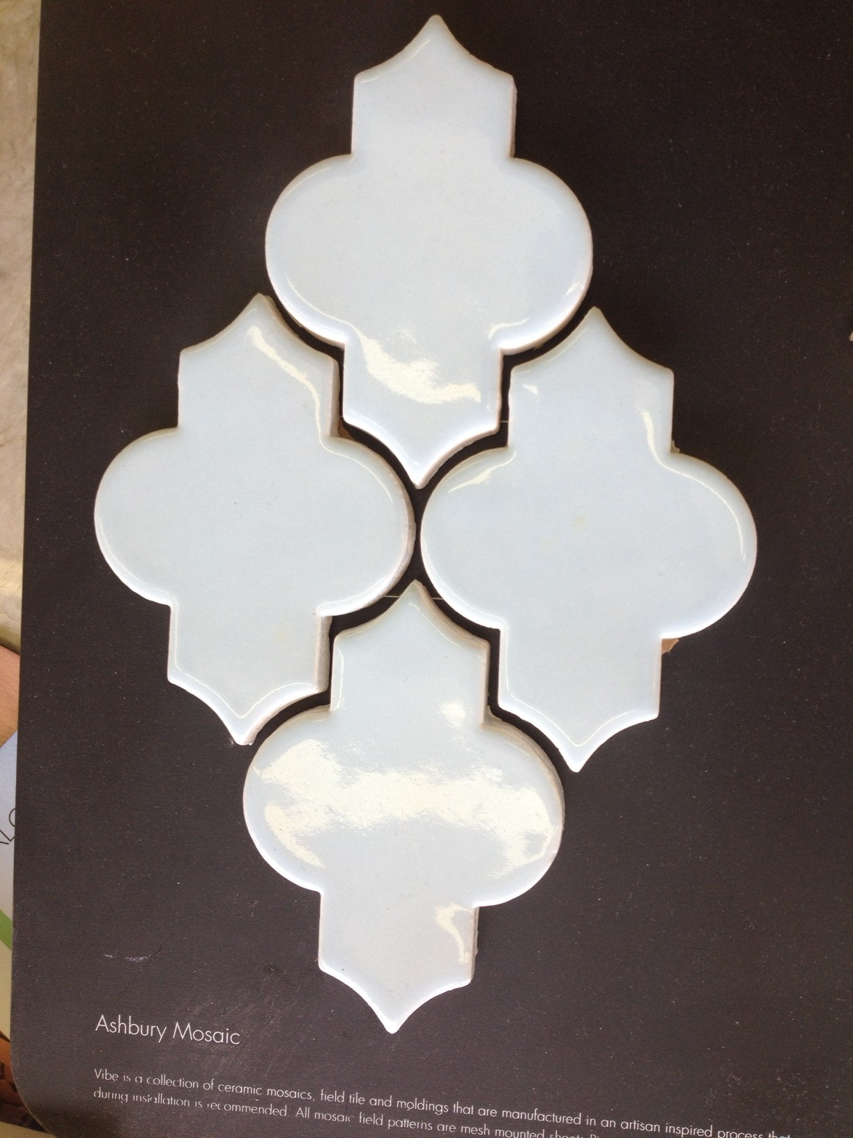 awesome ceramic in white and brown theme by Walker Zanger for wall decor ideas
