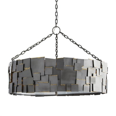 awesome monty chandelier with unique shade by Arteriors Lighting for home lighting ideas