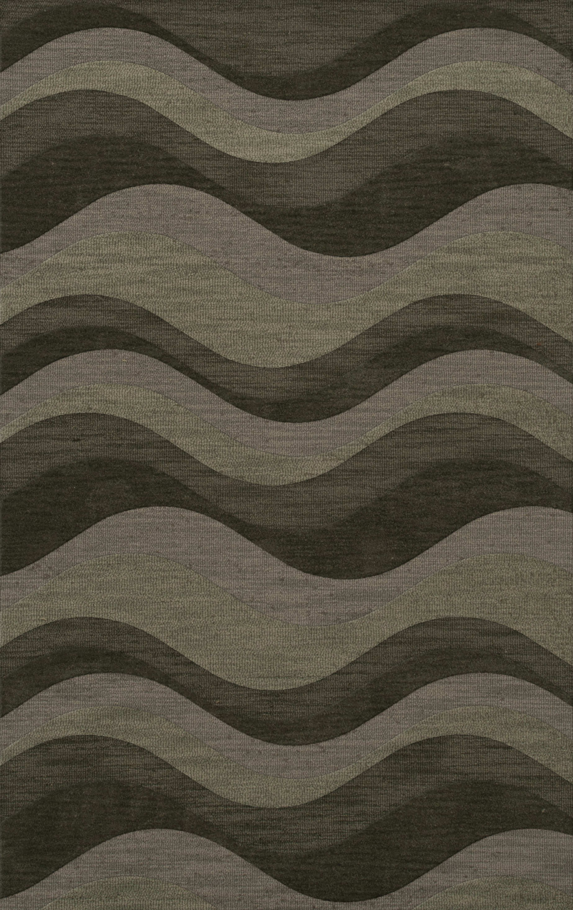 Awesome rectangle Dalyn Rugs with waves and multicolor design for floor decor ideas