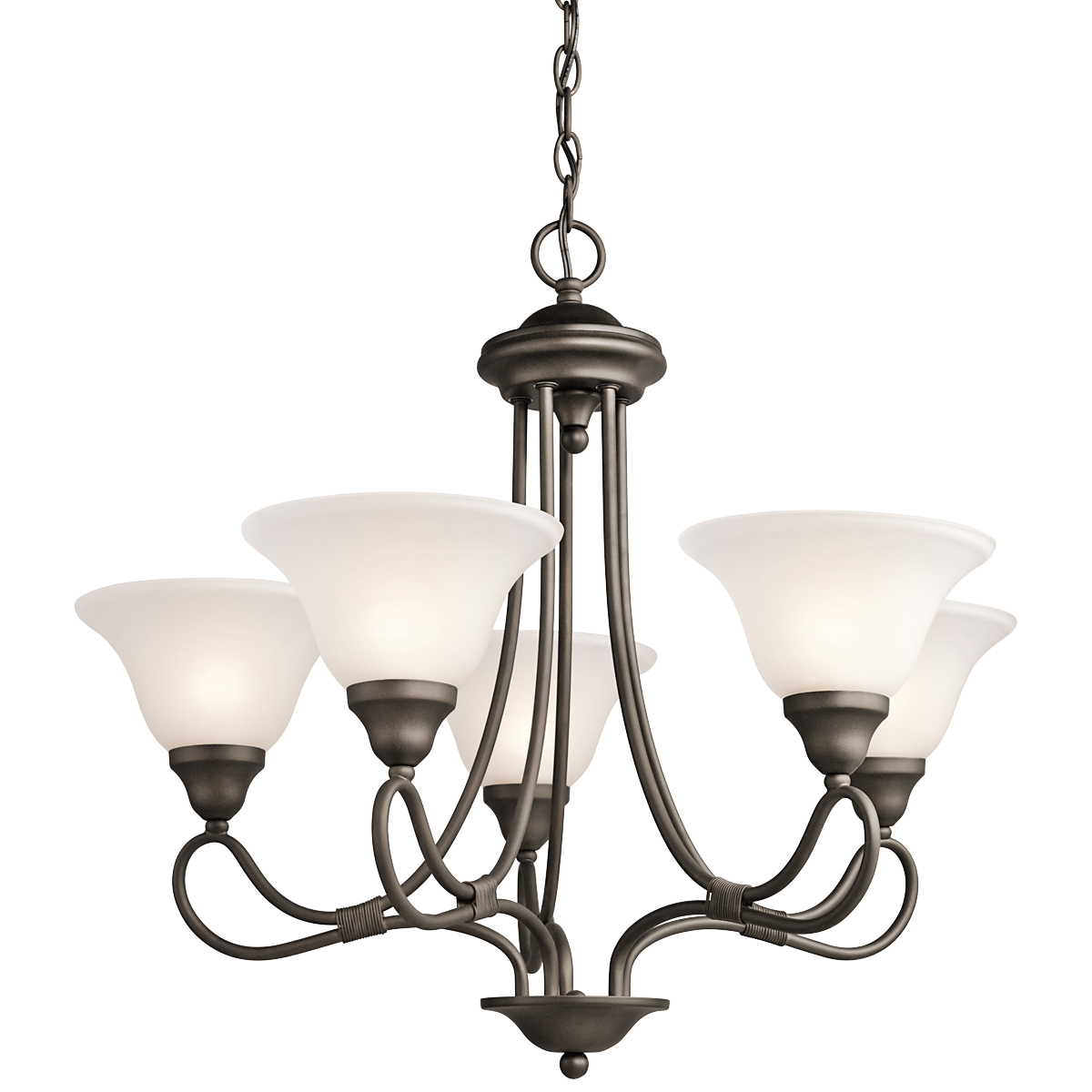 Awesome Stafford 5 Light Chandelier Olde Bronze By Cardello Lighting And Decor For Home Ideas