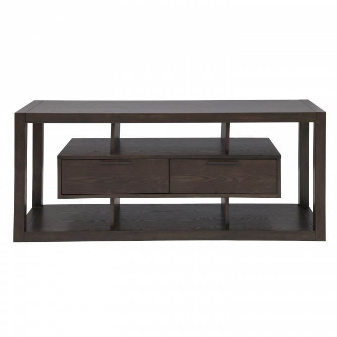 Awesome Table In Espresso By Eurway Furniture With Storage For Home Furniture Ideas