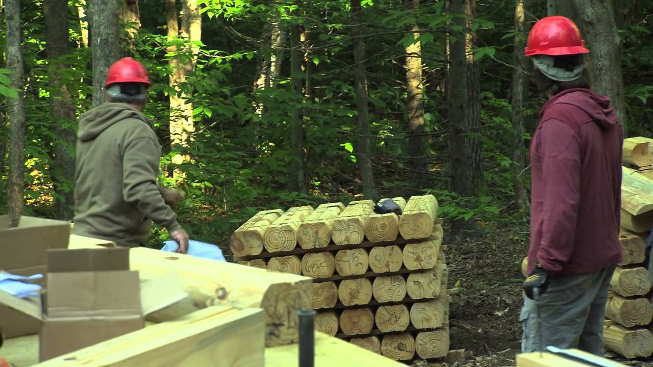 Building Wild with Southland Log Homes Spinning Cabin
