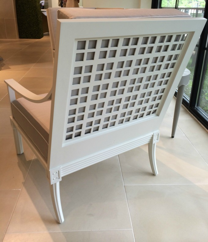 Charming Chair In White By Janus Et Cie Outdoor Furniture For Outdoor Furniture Ideas