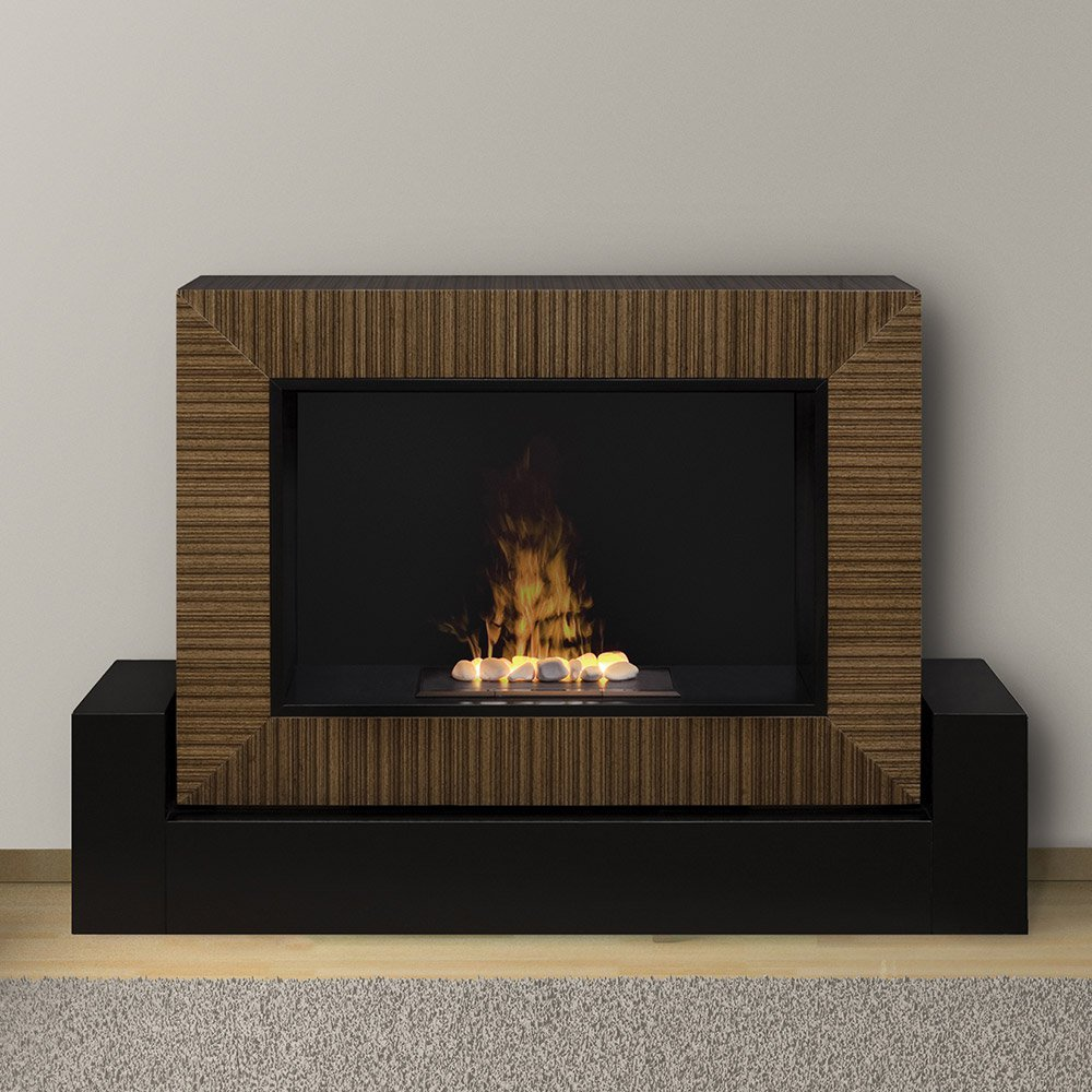 charming dimplex electric fireplaces with decorative mantel kit before the white wall and matched with wooden floor with gray rug for family room decor ideas