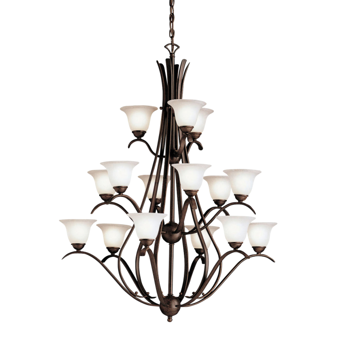 Charming Dover 15 Light Multi Tier Chandelier By Cardello Lighting And Decor For Home Ideas