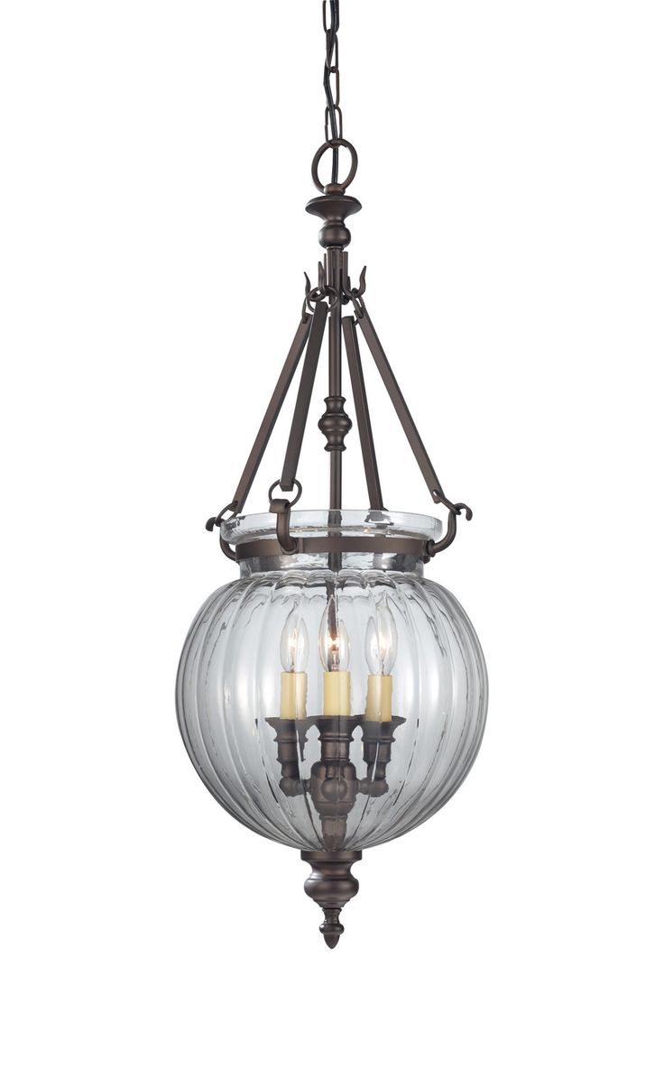 Charming Pendant With Three Lights And Glass Round Lamp Holder By Cardello Lighting And Decor And Brown Iron String By Cardello Lighting And Decor For Home Ideas