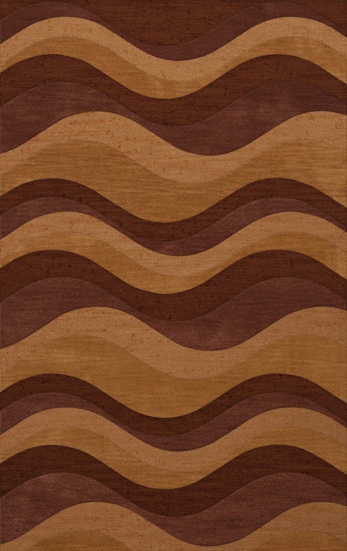 Charming Waves Design If Dalyn Rugs In Multicolor For Floor Decor Ideas