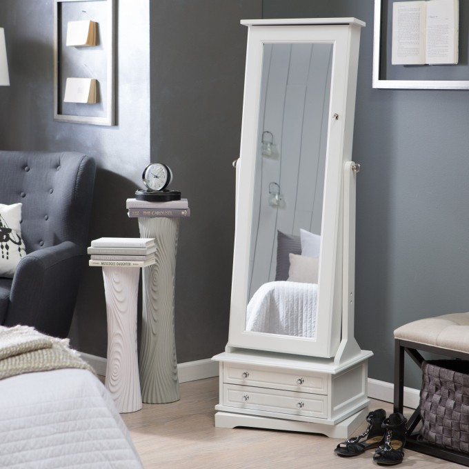 Post Taged with Free Standing Jewelry Armoire With Mirror
