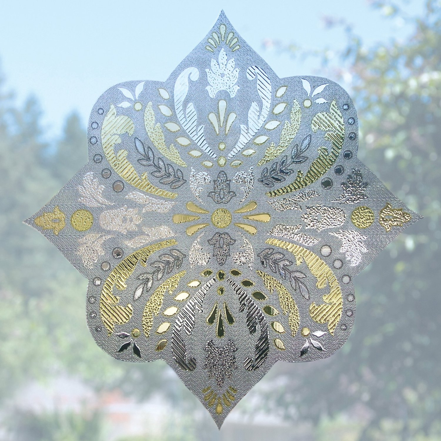 chic 02 3016 Chateau Sidelight artscape window film for window decor ideas