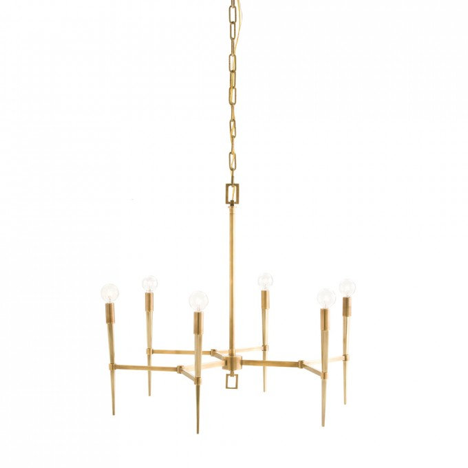 Chic Auburn 6 Light Chandelier By Arteriors Lighting For Home Lighting Ideas