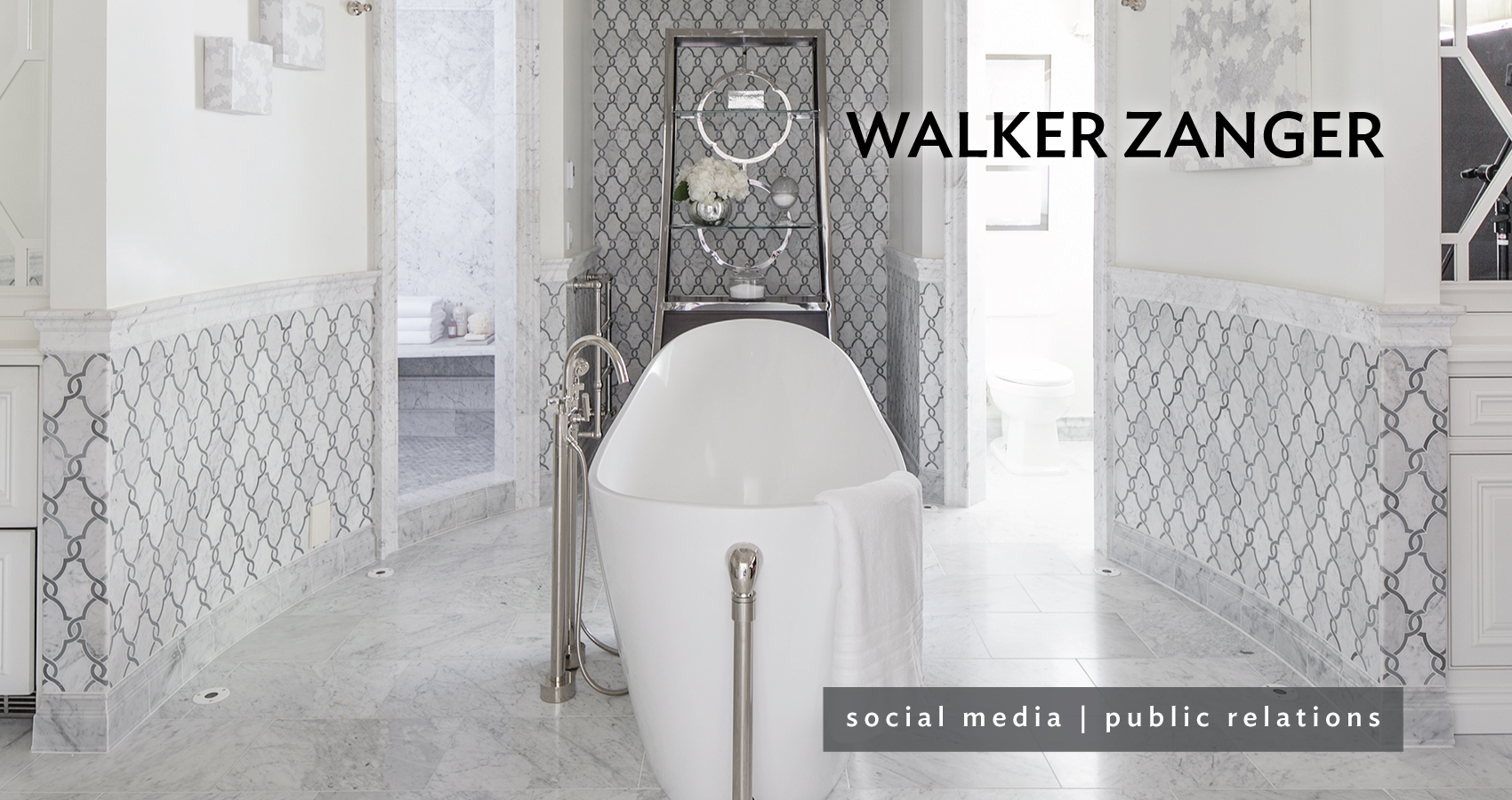 Flooring awesome stone and tile by walker zanger for wall decor chic bathup on walker zanger tile floor matched with white wall and wainscoting for bathroom decor dailygadgetfo Choice Image