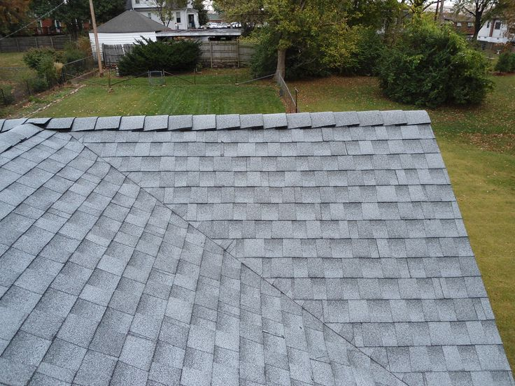 Chic Gaf Timberline Hd In Gray For Interesting Roofing Ideas