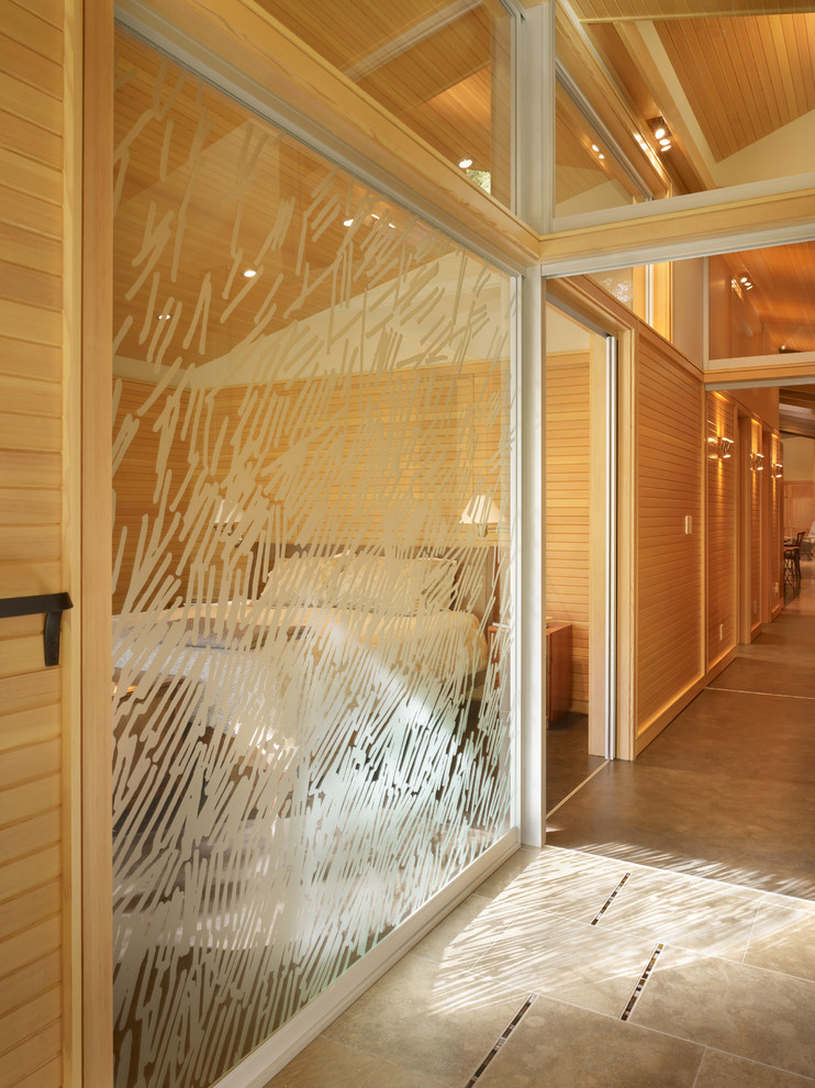 chic glass window using artscape window film ideas
