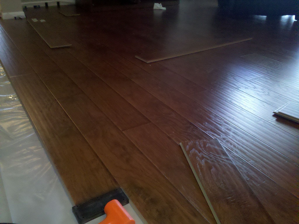 chic Konecto laminate floor installation