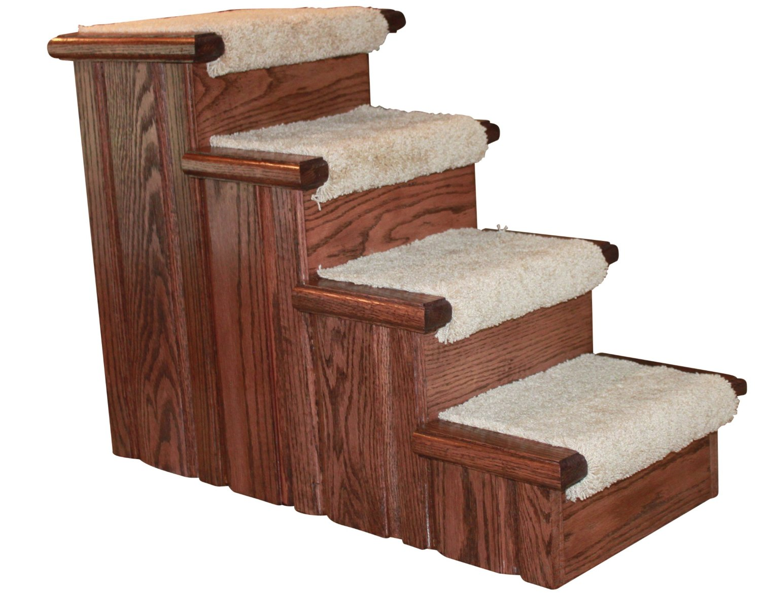 chic non slip stair treads in white for stair care step ideas