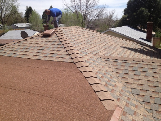 Chic Roofing With Gaf Timberline Hd In Tan For Home Ideas
