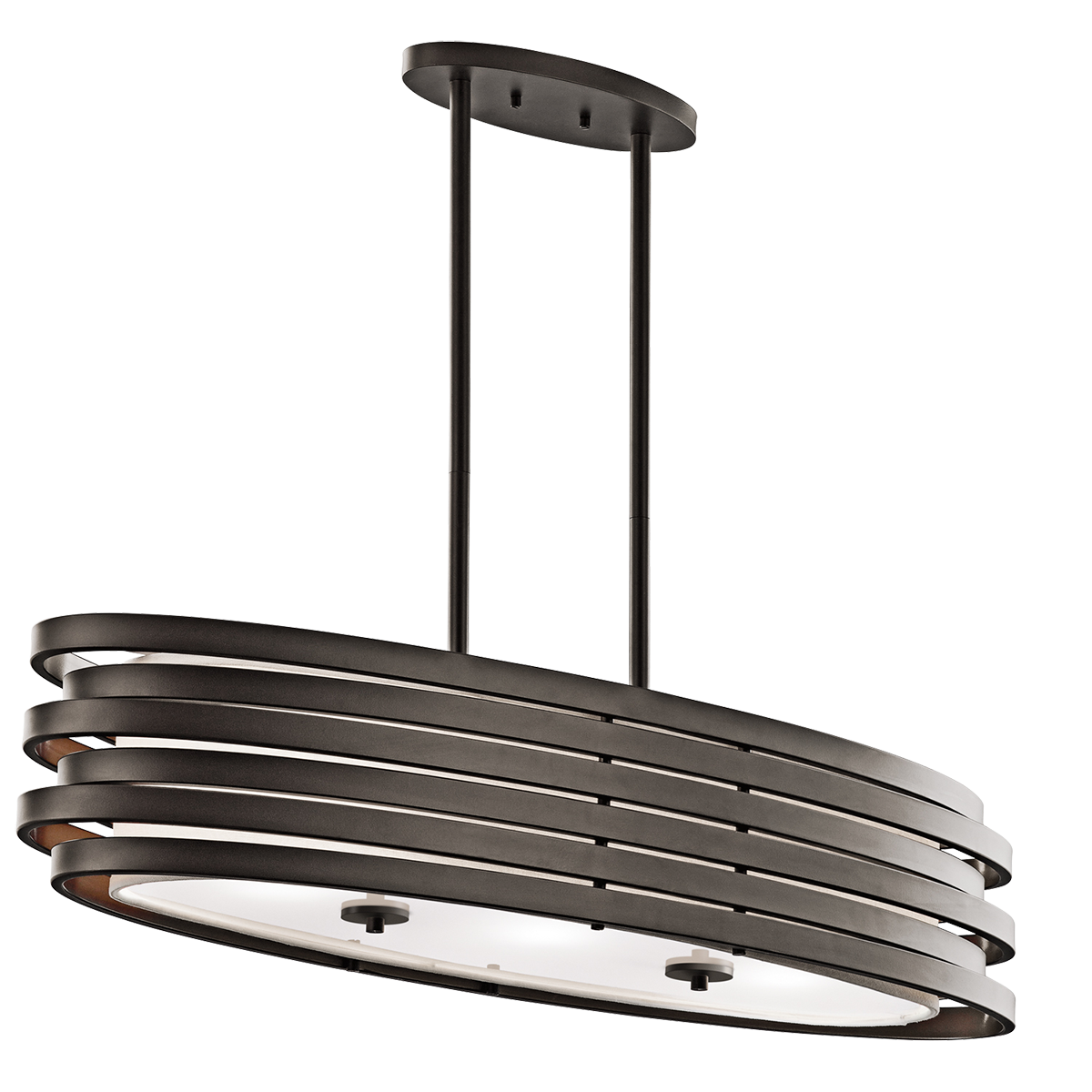 Chic Roswell 3 Light Oval Chandelier Or Pendant By Cardello Lighting And Decor For Home Ideas