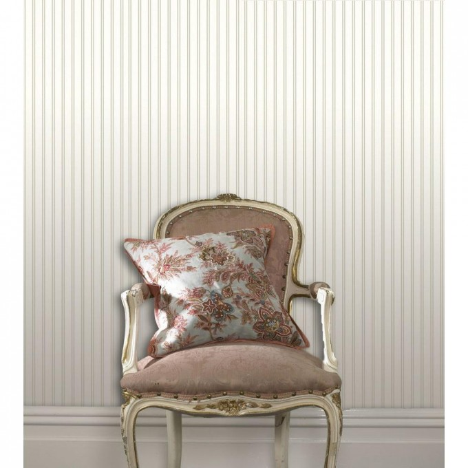 Chic Single Sofa In Tan Before The Cute Wall Using Wall Doctor Beadboard Wallpaper In White For Living Room Decor Ideas