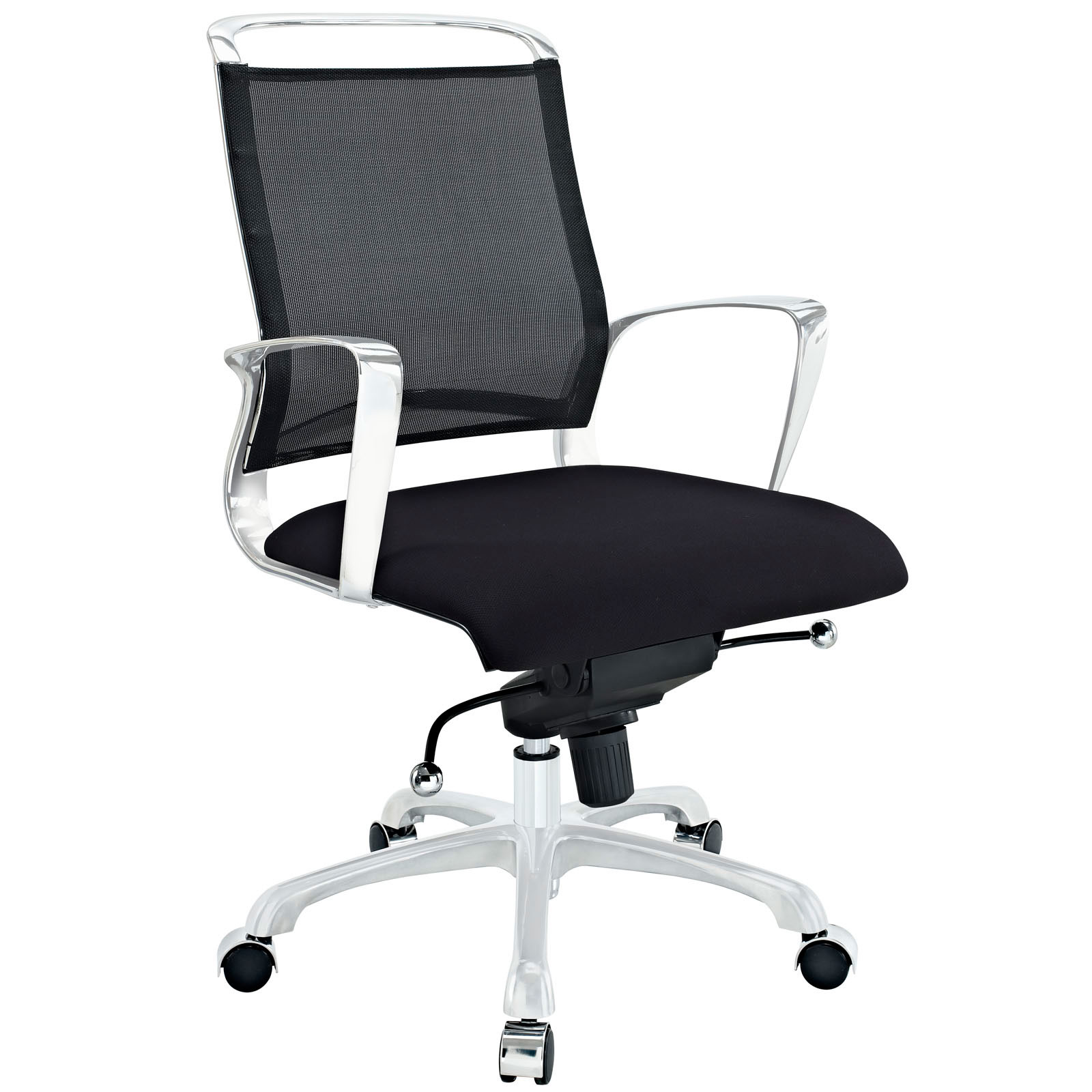 chic Solaris Office Chair in black and white by eurway furniture for home office furniture ideas