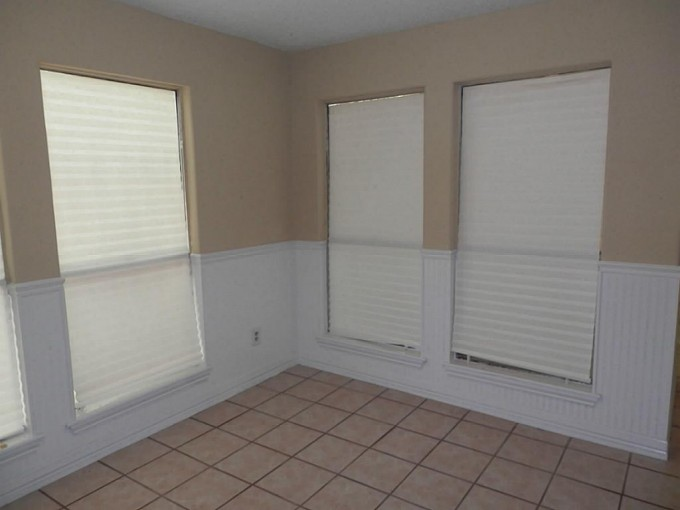 Chic Tan Wall Matched With Wainscoting Using White Wall Doctor Beadboard Wallpaper Plus Window For Interior Design Ideas