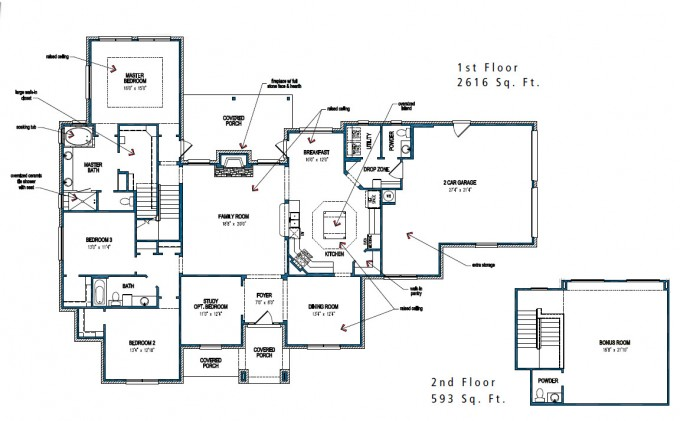 Chic Tilson Homes Sketch