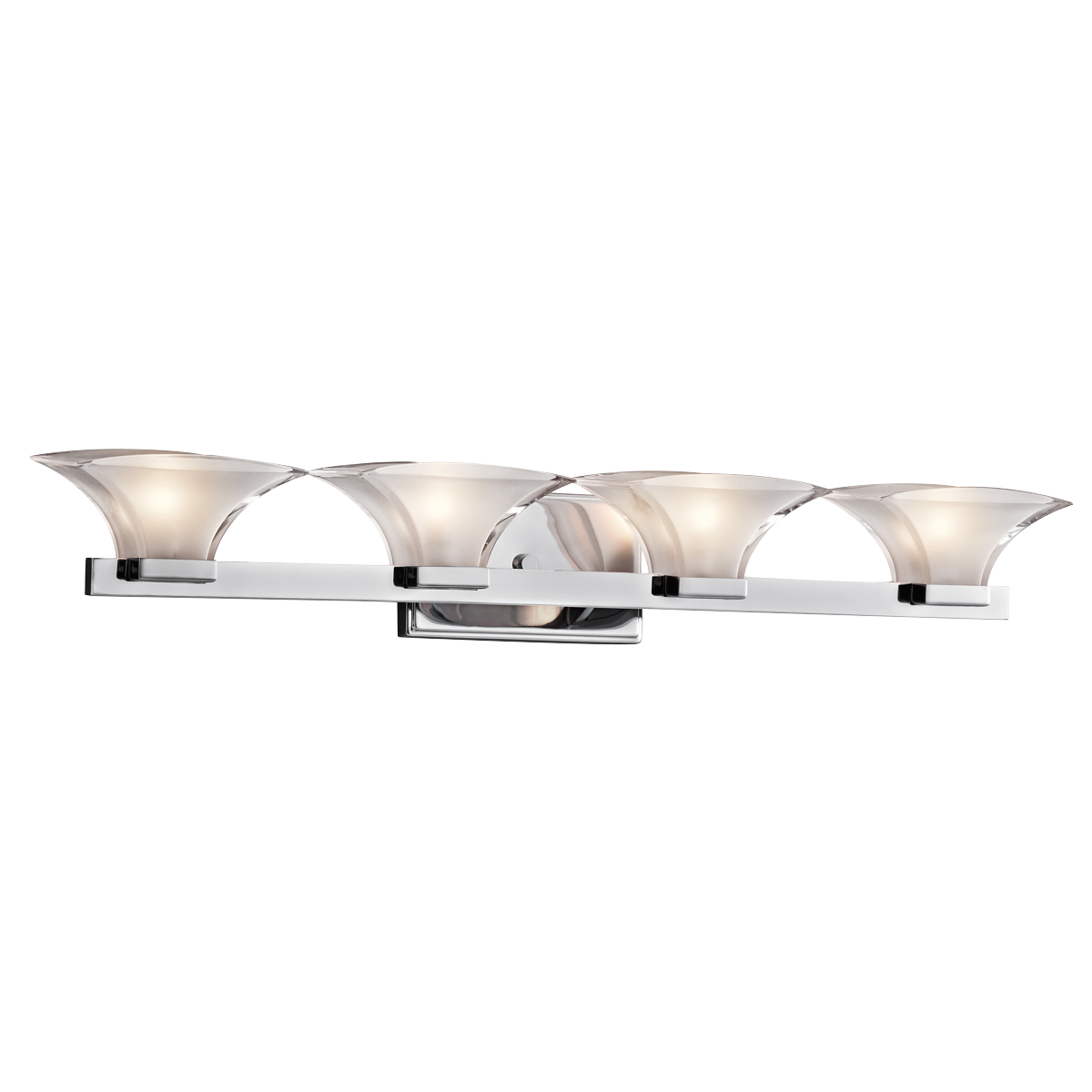 Chic Tulare Collection Bath 4Lt CH By Cardello Lighting And Decor For Home Ideas