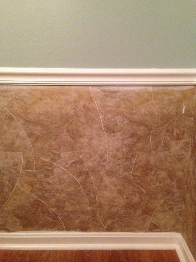 Chic Wall Doctor Beadboard Wallpaper In Wheat Matched With Olive Wall For Wall Decor Ideas