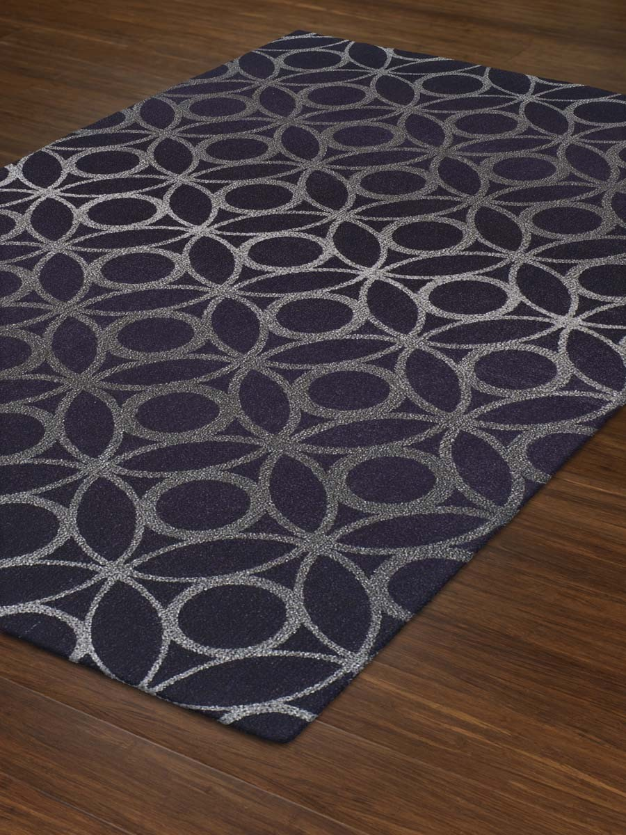 Contemporary Plum Rug 9ft 6in X 13ft 2in Tempo TP117 in purplr by dalyn rugs for floor decor ideas
